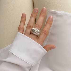 Croissant Ring | 925 Silver